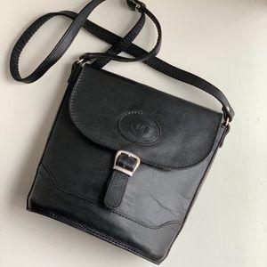 ◽️vintage◽️flap bucket crossbody purse
